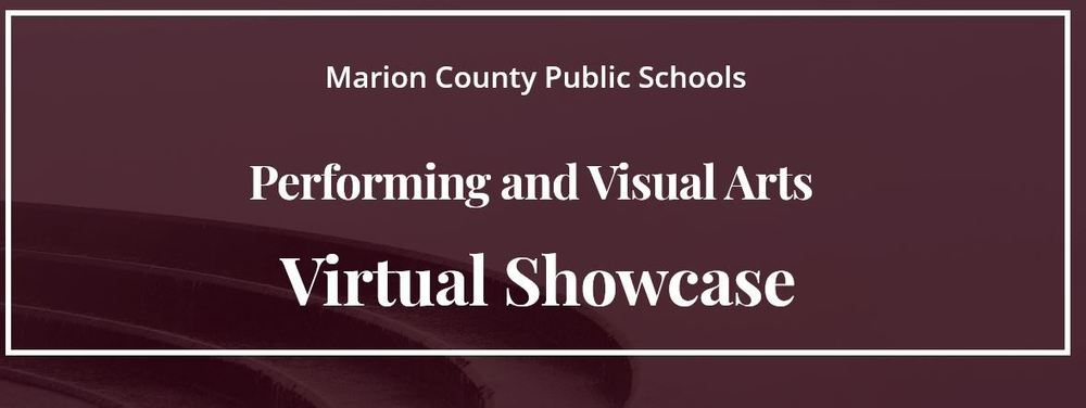 MCPS hosting Performing and Visual Arts Virtual Showcase