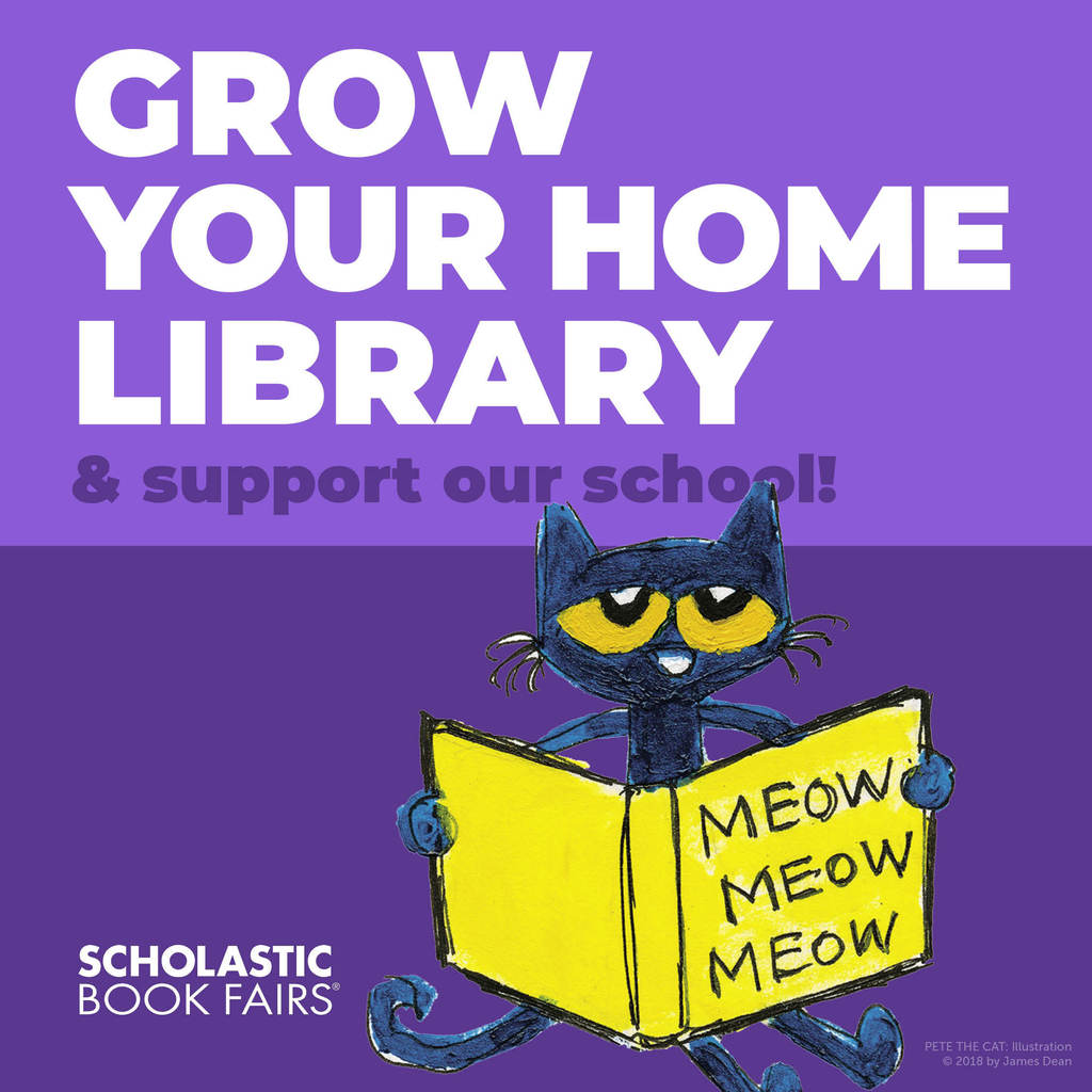 Pete the Cat grow your library