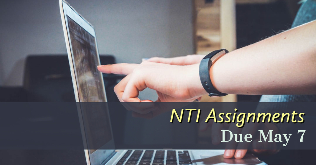NTI assignments