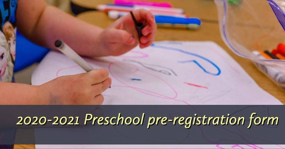 preschool preregistration form